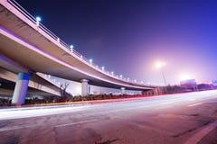 Noite da ponte foto de stock royalty free