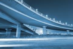 Noite da ponte imagem de stock