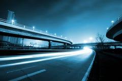Noite da ponte imagem de stock royalty free