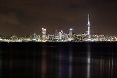 Noite de Auckland Foto de Stock Royalty Free