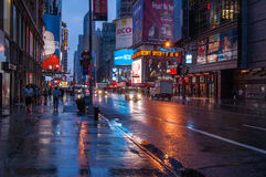 noite de 5 avenidas Foto de Stock