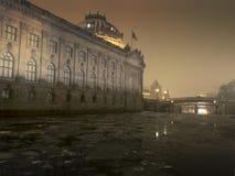 Noite de Berlim Imagem de Stock Royalty Free