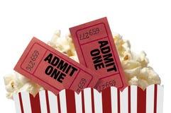 Noite de cinema isolada Imagem de Stock