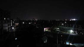 Noite de Dhaka foto de stock royalty free