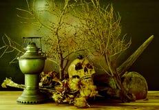 Noite de Dia das Bruxas em Banguecoque Thailnd Fotos de Stock Royalty Free