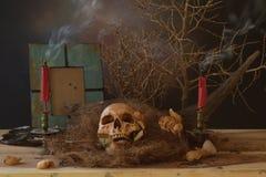 Noite de Dia das Bruxas em Banguecoque Thailnd Fotografia de Stock Royalty Free