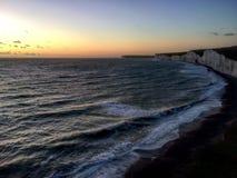 Noite de Eastbourne imagens de stock
