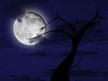 Noite de Halloween Fotos de Stock Royalty Free