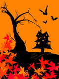 Noite de Halloween Foto de Stock
