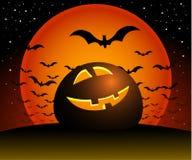 Noite de Halloween. Imagens de Stock