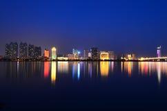 A noite de Harbin Imagens de Stock Royalty Free