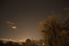 Noite de Lighty Foto de Stock