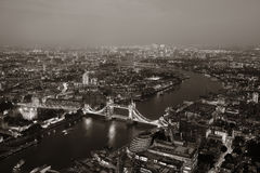 Noite de Londres fotos de stock royalty free