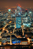 Noite de Londres imagem de stock royalty free