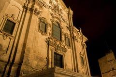 Noite de Matera Imagens de Stock Royalty Free