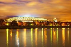 Noite de Moscovo Imagem de Stock Royalty Free