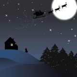 Noite de Natal Imagem de Stock