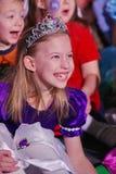Noite de Natal crianças em um traje do partido das crianças, o carnaval de ano novo Foto de Stock