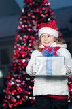 Noite de Natal feliz Imagem de Stock