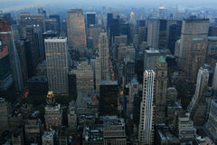 Noite de New York Fotografia de Stock Royalty Free