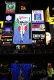 Noite de Osaka Imagem de Stock