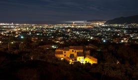 Noite de Palermo Fotografia de Stock