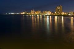 Noite de Port Elizabeth Imagem de Stock Royalty Free