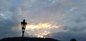 Noite de Praga Foto de Stock