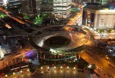 Noite de Shanghai Imagens de Stock Royalty Free
