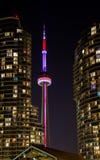 Noite de Toronto Imagens de Stock