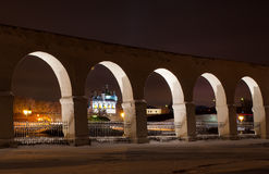 Noite de Veliky Novgorod Imagens de Stock Royalty Free