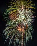 Noite de verão final Imagens de Stock Royalty Free
