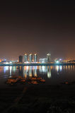 Noite de Zhuzhou Fotografia de Stock Royalty Free