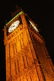Noite disparada de Big Ben da saída do metro Foto de Stock Royalty Free