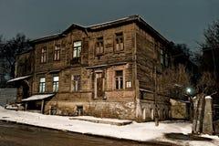 Noite Dnepropetrovsk Foto de Stock