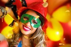 Noite do carnaval Imagens de Stock