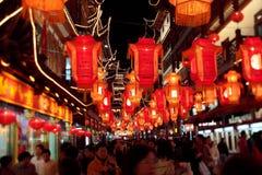 A noite do festival de lanterna Imagem de Stock