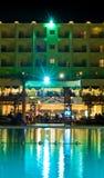 Noite do hotel de luxo fotografia de stock
