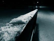 Noite do inverno Fotos de Stock Royalty Free