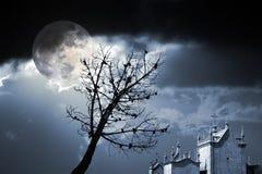 Noite do medo Imagens de Stock Royalty Free