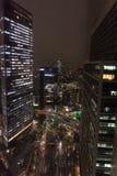 Noite do Tóquio Imagens de Stock