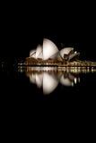 Noite do teatro da ópera na noite Fotos de Stock Royalty Free