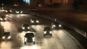 Noite do tráfego de cidade do LA filme