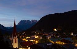 Noite do verão de Seefeld Imagem de Stock