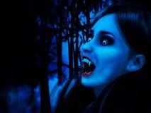 Noite dos vampiros Foto de Stock Royalty Free