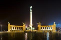 Noite em Budapest Foto de Stock