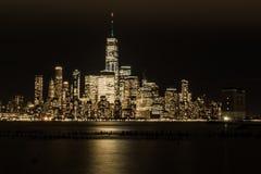 Noite em Gotham fotos de stock royalty free