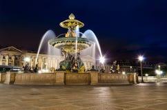 Noite em Paris - França Foto de Stock