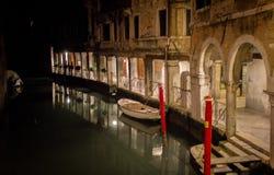 Noite em Veneza imagem de stock