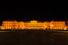 Noite em Viena fotos de stock